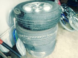 Jeep tires and wheels for Sale in Derby, KS