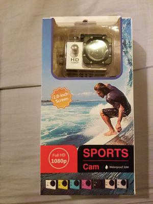 Silver 1080p HD Action Waterproof camera for Sale in NO POTOMAC, MD