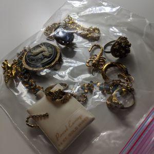 Old Jewelry Rings Bracelet Earrings Brooch for Sale in Chandler, AZ