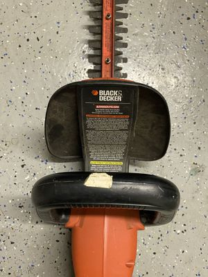 black and decker tree trimmer for Sale in Riverside, CA