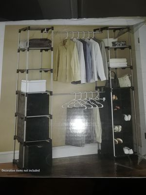 New Closet organizer, double hanging for Sale in Revere, MA