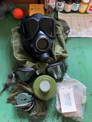 Army Infantry 11X NBC Gas Mask, with Goodies!!! for Sale in Atascocita, TX