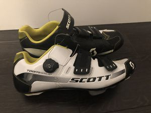Road cycling shoes Scott bike shoes for Sale in Miami, FL