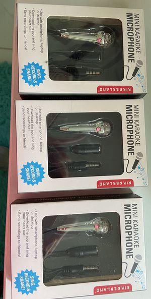 Mini Karaoke Microphones- NEW and FUN for Sale in Tamarac, FL