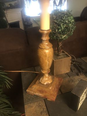 Antique Marble Table Lamp for Sale in Toms River, NJ