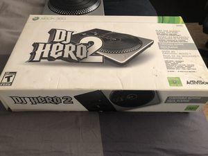 Dj hero 2 no game for Sale in Riverside, CA