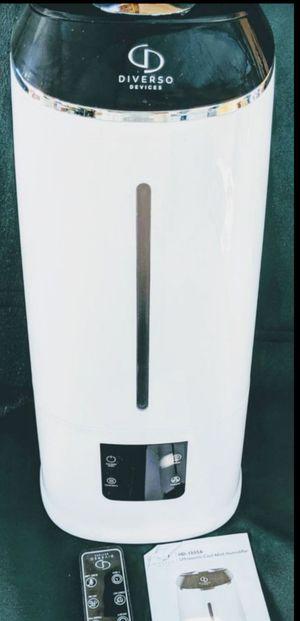 Humidifier Diverso (REMOTE CONTROL:)(operating range 5m/16.4ft) 9:REMOTE CONTROL: for Sale in Ontario, CA