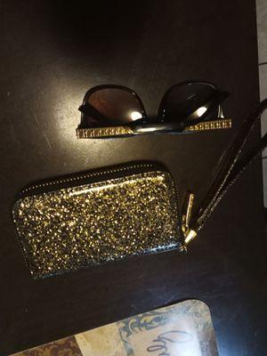 Glitter Gold & Black Wallet for Sale in Denver, CO