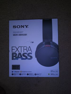 """Brand New Wire less """"SONY ?"""" Headphone s for Sale in Hyattsville, MD"""