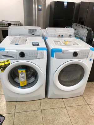 Electrolux Front Load Washer/Dryer Set take home for $39 down with 1 year warranty for Sale in Miami, FL