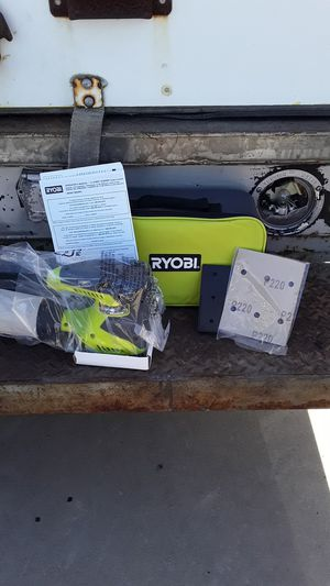 Ryobi 1/4 sheet sander kit for Sale in Garden Grove, CA