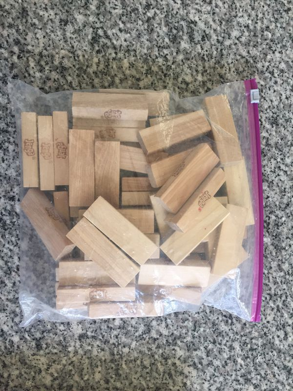 Board games puzzle and Jenga