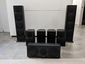 Pioneer 7.1 5.1 7 speaker set surround sound Andrew Jones ( electronics - by owner) for Sale in Kirkland, WA
