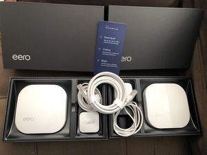Eero WiFi Router for up to 2-3 Bedrooom for Sale in Yonkers, NY