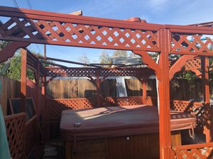 jacuzzi /hot tub gazebo (METAL Roof) for Sale in Azusa, CA