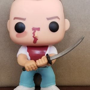 Pulp Fiction Original Movie Butch Coolidge Bruce Willis Funko Pop # 65 Action Figure for Sale in Hollywood, FL