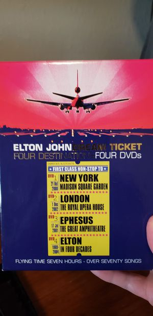 Elton John Dream Ticket DVD for Sale in Cypress, TX