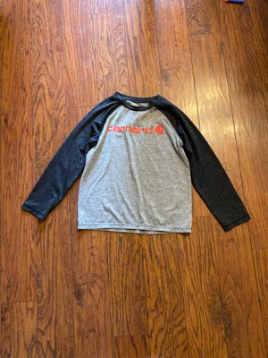 Carhartt long sleeve shirt for boys size 8/10 for Sale in Hubbard, OR