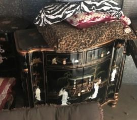 BLACK JAPANESE ORIENTAL FURNITURE for Sale in Orange, CA