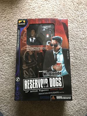 Reservoir Dogs 12 inch Action Figure. Mr. Blonde. **RARE** for Sale in Morrisville, NC