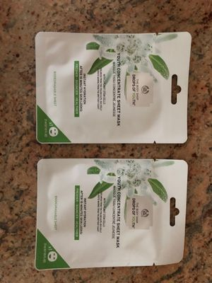 The body shop youth sheet masks (2) for Sale in Gaithersburg, MD