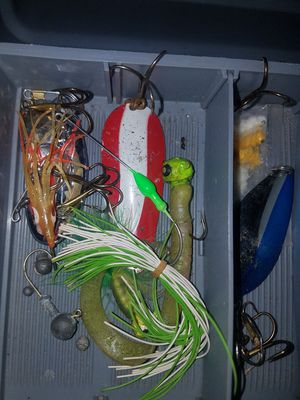 Fishing lures tackle for Sale in Dearborn, MI
