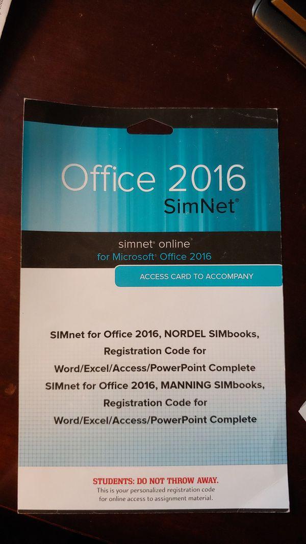 Office 2016 SimNet Access Card