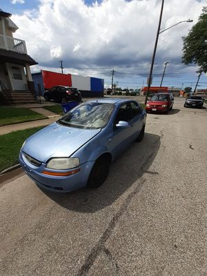 2004 chevy aveo 150k no radiator but runs for Sale in Brooklyn, OH
