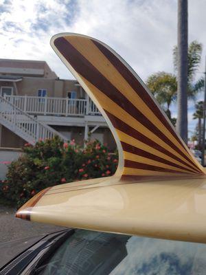 Vintage Bing Surfboard Longboard noserider for Sale in San Diego, CA