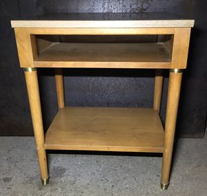 Antique wood end table by Sligh-Lowry Holland Michigan for Sale in Portland, OR