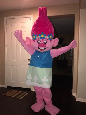 Trolls Poppy Mascot costume for Sale in Anaheim, CA