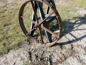 Cast iron tractor wheel for Sale in Austin, TX