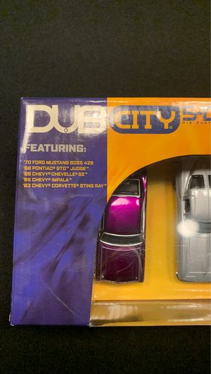 Dub City 5-Deep Big Time Muscle 1:64 scale die cast cars for Sale in Phoenix, AZ