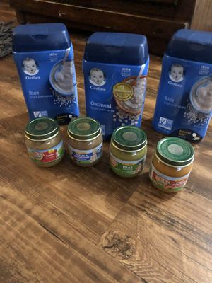 Free infant cereal, oatmeal and baby food for Sale in Dallas, TX