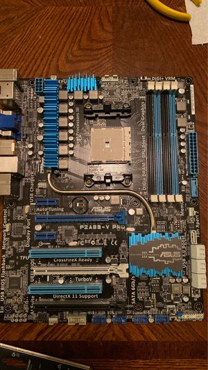 ASUS F2A85-V PRO Computer Motherboard - Socket FM2 - Read description for Sale in Mesa, AZ