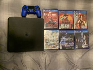 PS4 Slim 1TB Bundle for Sale in Hiram, GA