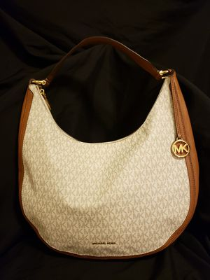 Vanilla Lydia Signature Hobo Bag Michael Kors for Sale in Mesa, AZ