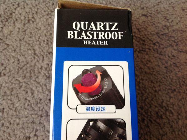 Water heater new