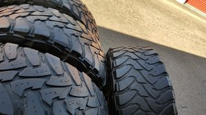 4 tires Lt37x12.50r22 toyo M/T open country very good tread on $350.00 all 4 for Sale in Anaheim, CA