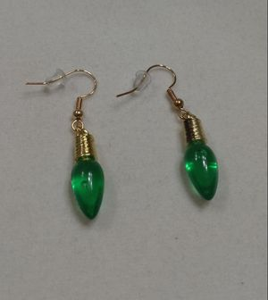 Green Christmas Bulb Earrings for Sale in Whittier, CA