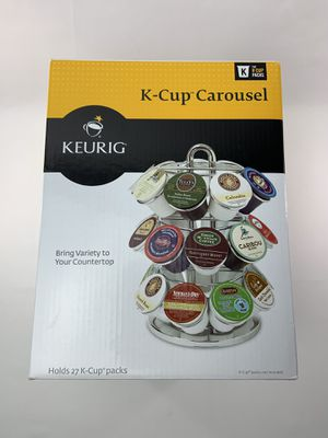 Keurig 27- k cup coffee holder carousel brand new for Sale in Randolph, MA