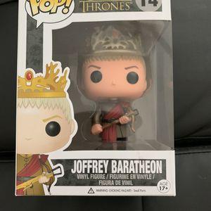 Joffrey Baratheon Funko Pop for Sale in Sacaton, AZ