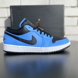 Air Jordan 1 Low ' University Blue Black' for Sale in Oklahoma City, OK