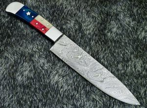 Beautiful New handmade Damascus chef knife for Sale in Lakeside, CA