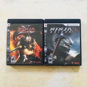 Ninja Gaiden Sigma 1 + 2 PS3 for Sale in Norwalk, CA