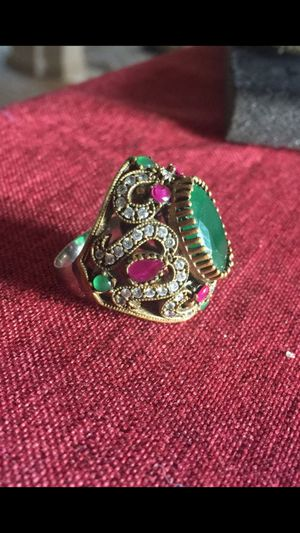 10 size ring 925 sterling silver for Sale in Sayreville, NJ