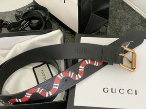 """Gucci Leather Belt with KingSnake """" for Sale in Farmingville, NY"""