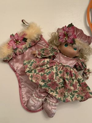 """15th Edition Precious Moments Stocking Doll, 2007, """"A Christmas to Remember"""" for Sale in DeLand, FL"""