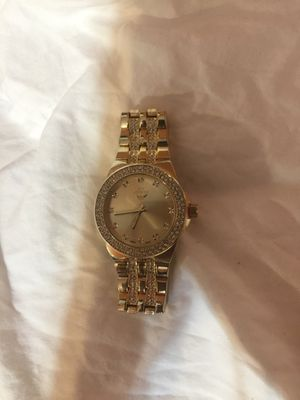 Diamond and gold watch for Sale in Carrollton, TX