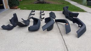 Jeep Parts/ Front and rear Bumpers and fenders including inner linner. Also Smitty bilt runner board. for Sale in Tampa, FL